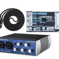 Presonus Audiobox USB DAW Recording Bundle with Studio One Artist Recording Software and 10ft LyxPro LCS Series Premium XLR Cable   This bundle cosists of: Presonus Audiobox USB: The PreSonus AudioBox USB is a USB bus-powered audio recording interface featuring 2 Read  more http://themarketplacespot.com/dj-equipment/presonus-audiobox-usb-daw-recording-bundle-with-studio-one-artist-recording-software-and-10ft-lyxpro-lcs-series-premium-xlr-cable/  Visit http://themarketplacespo