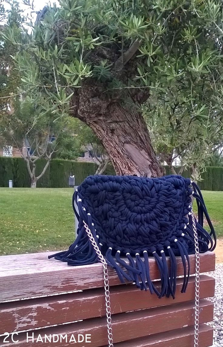 NAVY BLUE BAG | 2C HANDMADE