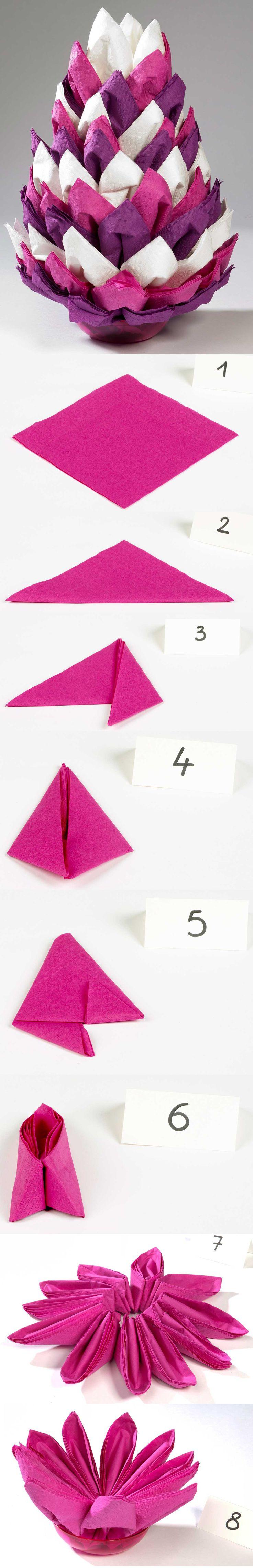 200 les meilleures images concernant origami sur pinterest - Flocon de neige en papier pliage ...