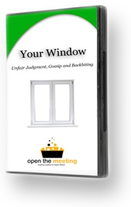 Your window - discussion guide