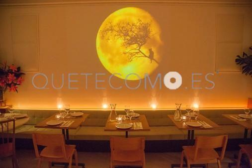 Comedor principal | Restaurante vegetariano cafetería Gut en Barcelona