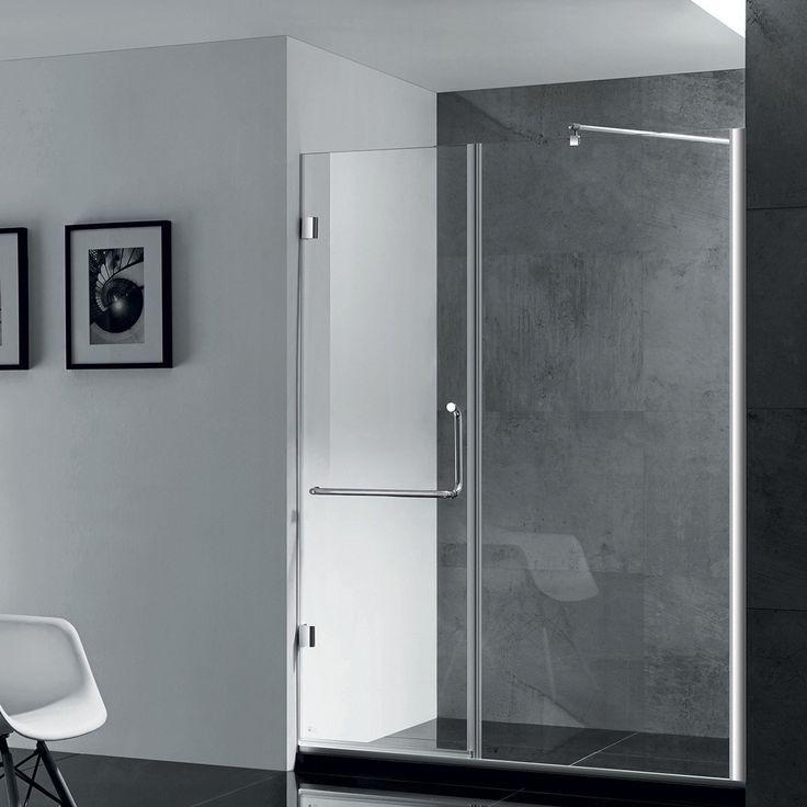 Paragon Bath Prima Frameless Shower Door In Chrome Size
