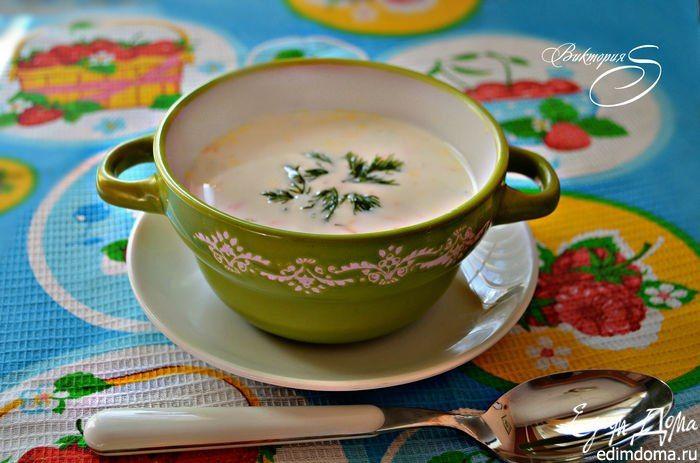 Болгарский летний суп. Отличный рецепт вкусного летнего супа! #edimdoma #recipe #cookery #dinner #soup