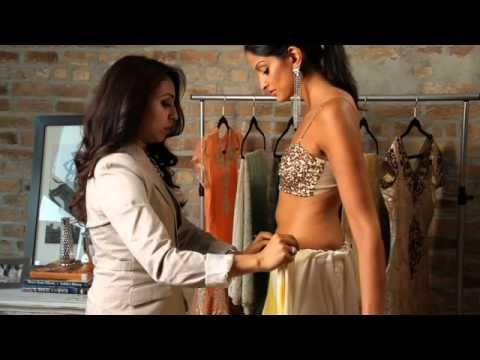 Luxemi's Guide to Sari Draping: The Siren