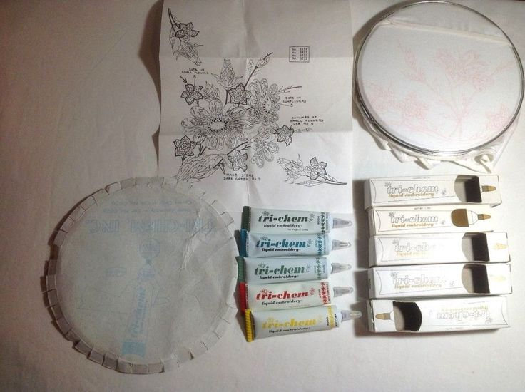Used Tri Chem Paint Sets