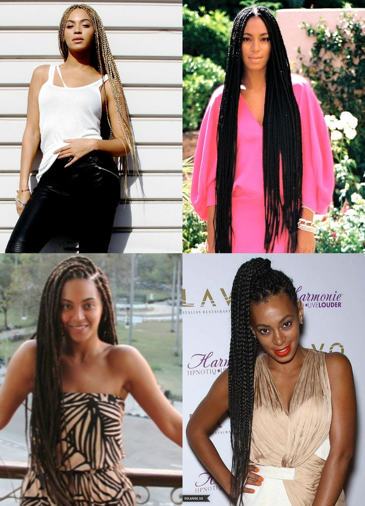 Beyoncé & Solange rocking braids to the fullest and you can too!