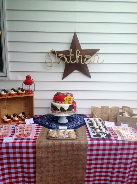"Photo 1 of 36: Western/Cowboy / Birthday ""Nathan's 2nd Birthday"""