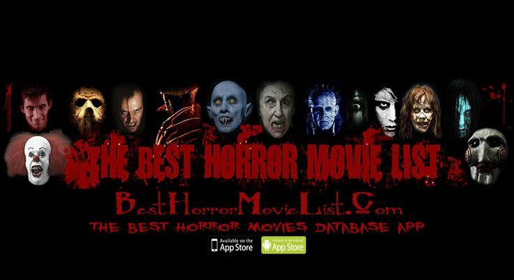 All the top rated horror movies suggestions you will ever need.  http://www.besthorrormovielist.com/ The database of all the top rated horror movies of all time.  Check out our app for the top rated horror movies of all time plus the top rated horror movie classics to watch on your device.  For iOS and Android.  We don't bother you with push notification nor ask you for a review.  https://itunes.apple.com/us/app/best-horror-movies-database/id668500290?mt=8 #horrormovies #scarymovies #horror…