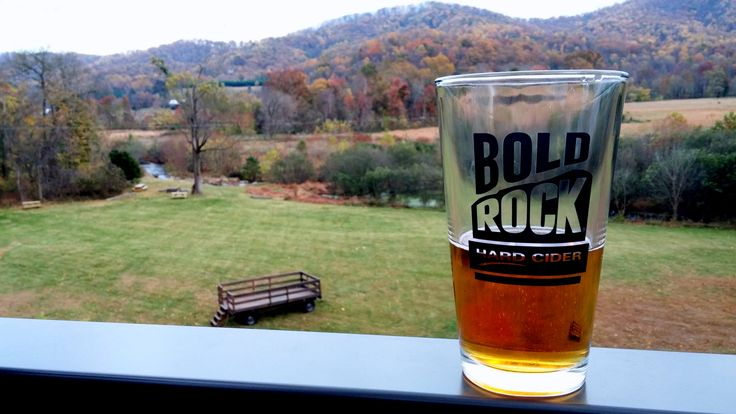 Bold Rock Cidery in the Blue Ridge Mountains, Virginia