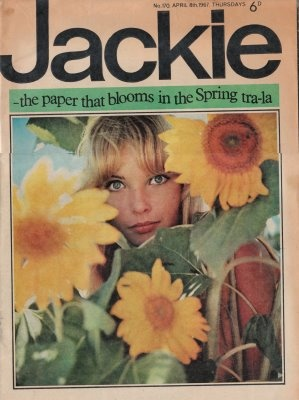 When you were little you read Bunty but when you were older and sophisticated!!! You read Jackie. Yep I believed that. Lol