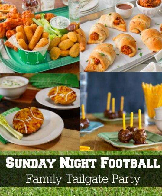 Host a Home Tailgate Party for Sunday Night Football. Today's recipe is Buffalo Potato Skins.