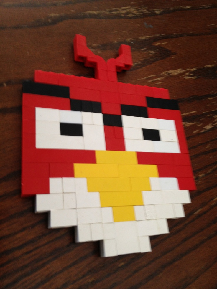 My sons Lego angry bird!