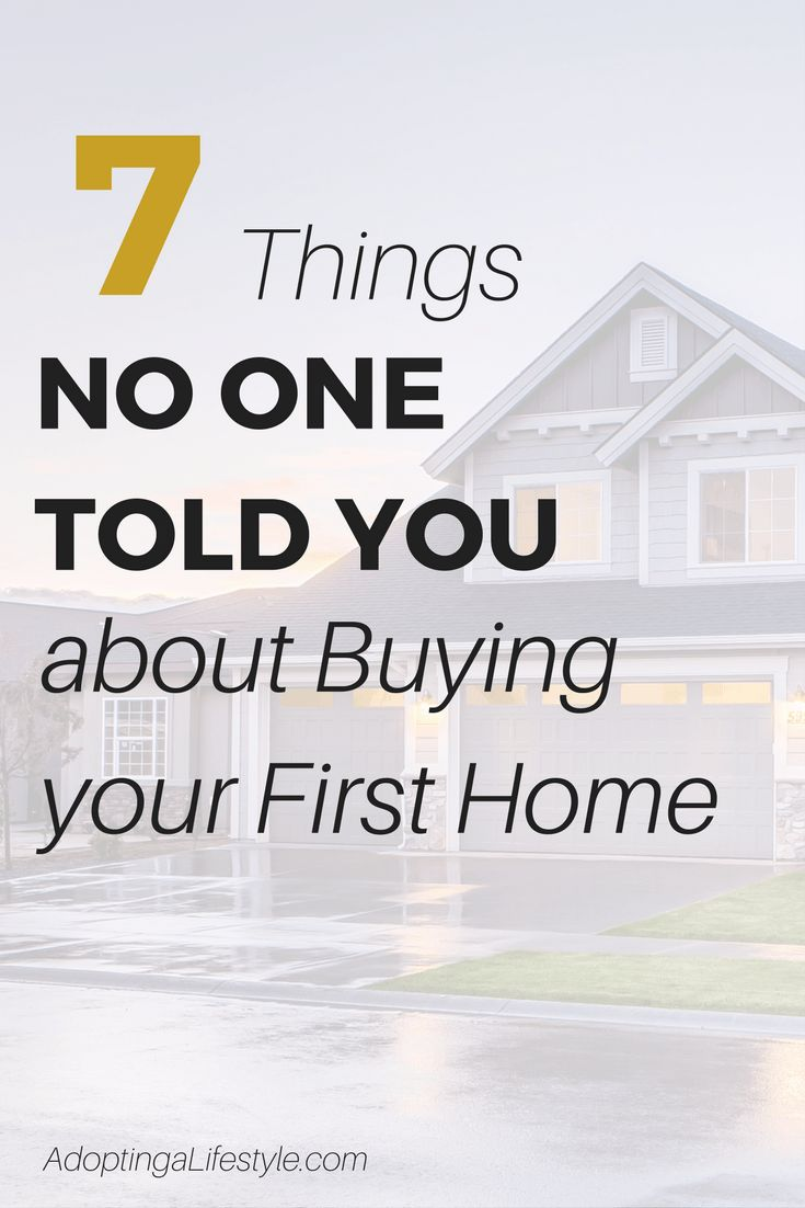 Thinking of buying your first home? You may be surprised by these 7 things no one told you | home buying tips | home buying process