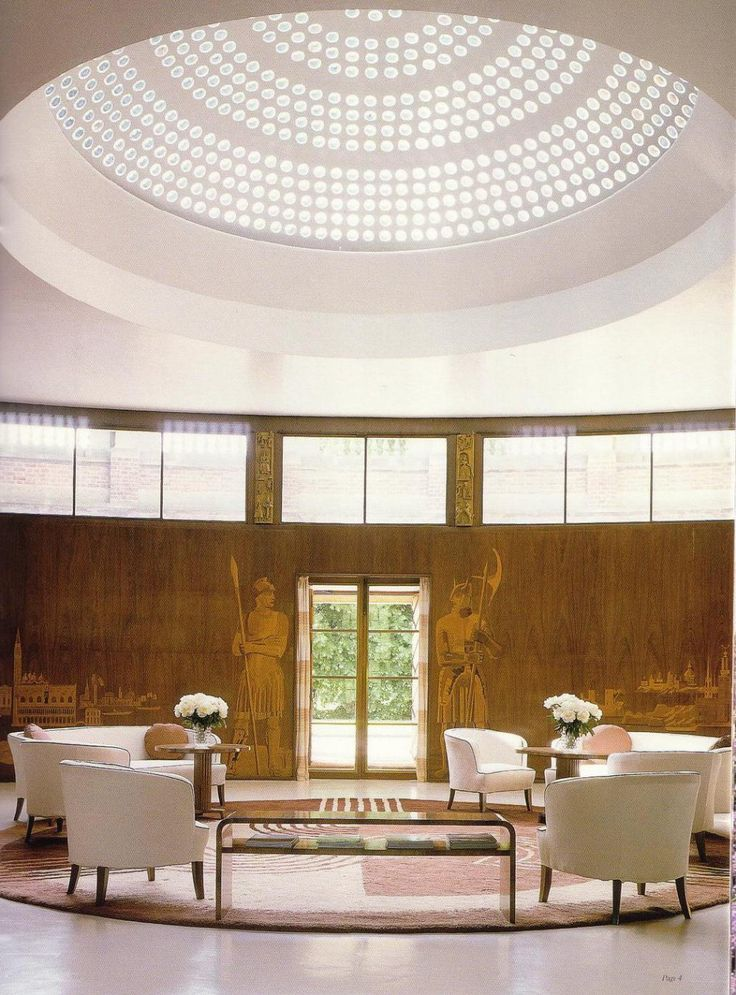 WHAT WE'RE SEEING: Art Deco at Eltham Palace, Greenwich | Journal | The Modern House