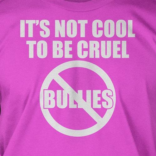 Anti bullying Tshirt - Screen Printed T-Shirt Tee Shirt T Shirt Mens Youth Kids Funny Geek. $14.99, via Etsy.