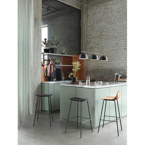 Muuto Ambit Rail Lamp Black Interior Design Kitchen Kitchen Interior Scandinavian Kitchen Design