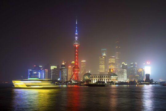 La Perle de l'Orient, à Shanghai