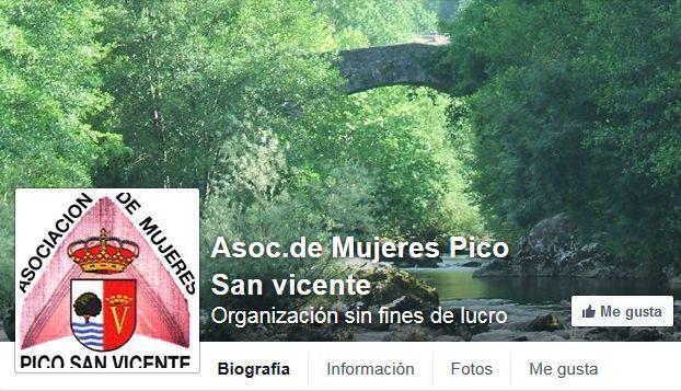 Asoc. Mujeres Pico San Vicente en Facebook #Ramales #Social