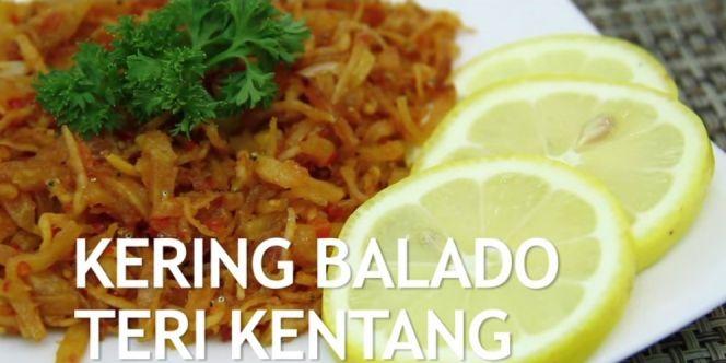 Video : Kering Balado Teri Kentang | Dream.co.id
