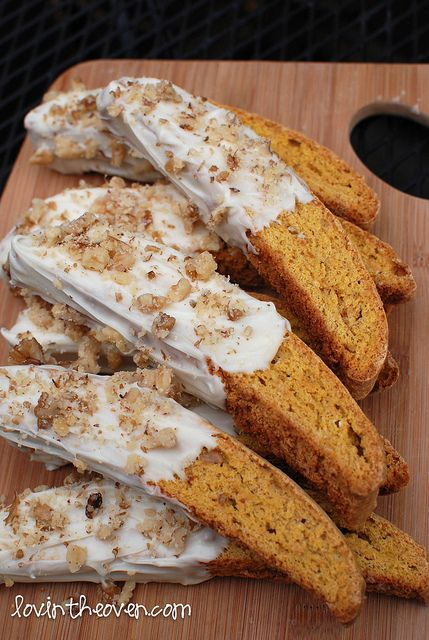 Pumpkin Gingerbread Biscotti
