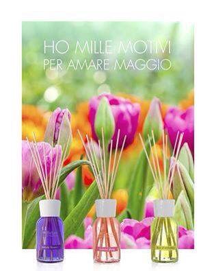 Il #profumo dei #fiori riempie l'aria con le sue note speciali: diffondi intorno a te la primaverile atmosfera delle #fragranze #Millefiori !!! Vieni a scoprirne la vasta gamma !!