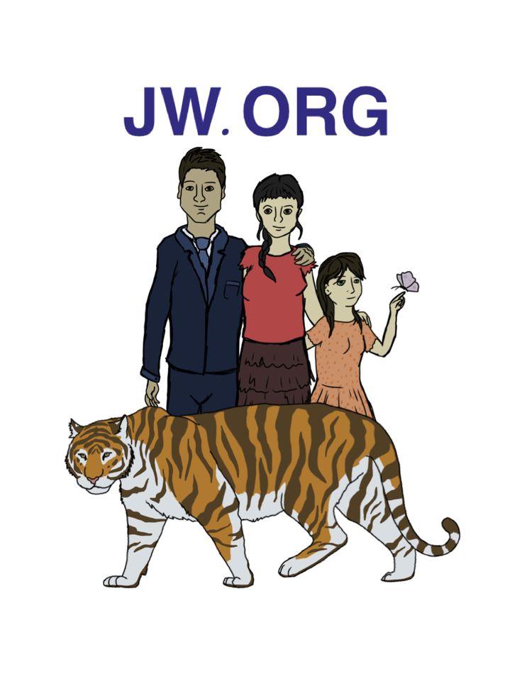 JW.ORG; drawing by ArtWolf