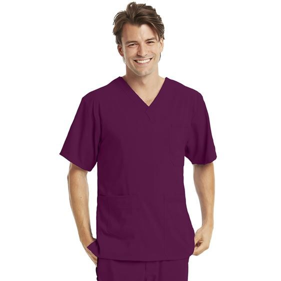 New Colors!  KD110 Men's 7 Pocket V-Neck Top. Available in 7 colors! Shop Now: http://www.nationalscrubs.com/KD110-Barco-Uniforms-Mens-v-neck-top-p/bc0109.htm