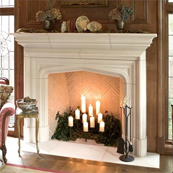 94 best fireplace mantels images on Pinterest Fireplace ideas