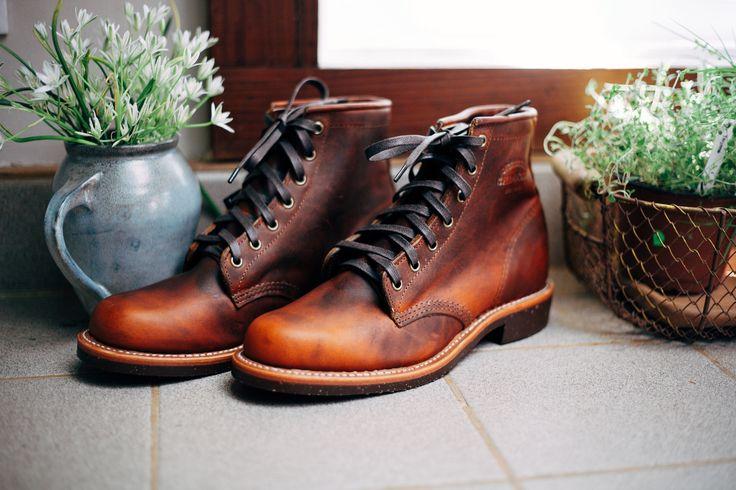 Chippewa Aldrich Boot Tan Estilo Botas Zapatos
