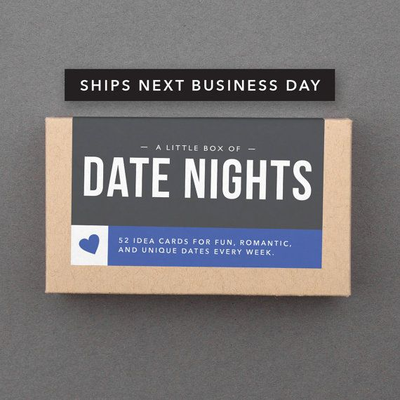 Date Night ideas box