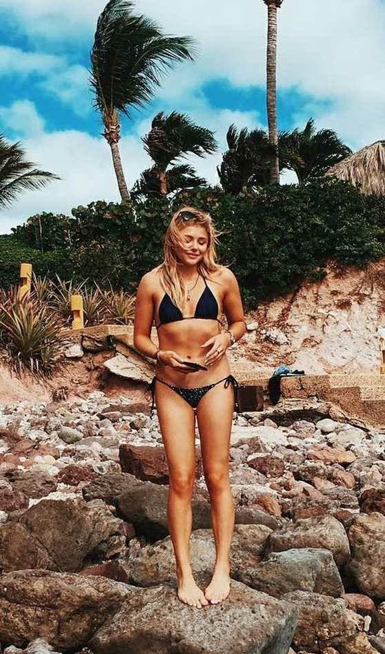 Chloe Grace Moretz in  a Bikini yum!