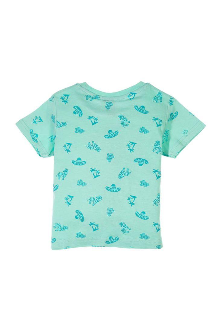 T-shirt imprimé tropical