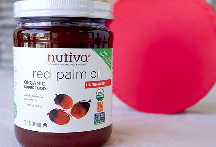 Red Palm Oil with Red Lid Superfood Snapshot Everything You Want to Know About Red Palm Oil kitchen.nutiva.com