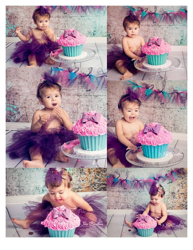 cake smash. Kids first birthday shoot, pose, studio shoot, https://www.facebook.com/NidsCreations