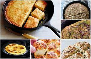 20 recetas de pan que puede hacer en una sartén de hierro fundido
