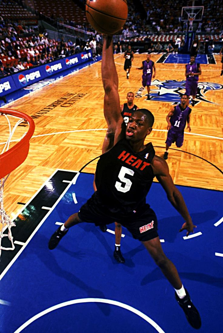 Dwyane Wade playing in summer league as a rookie
