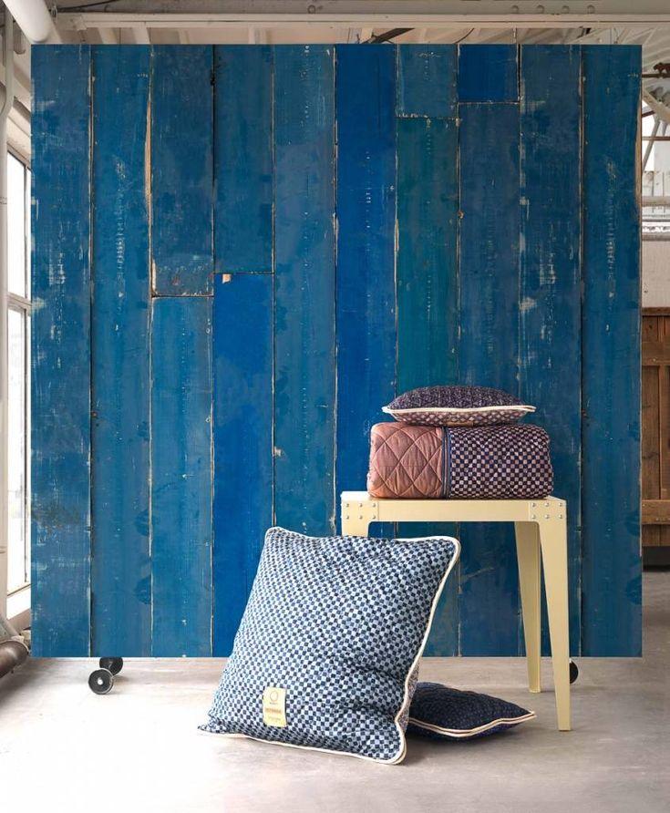 Bekijk de hele serie samples design behang van Piet Hein Eek voor NLXL in de winkel van North Sea Design in Rotterdam, ook snel in huis online