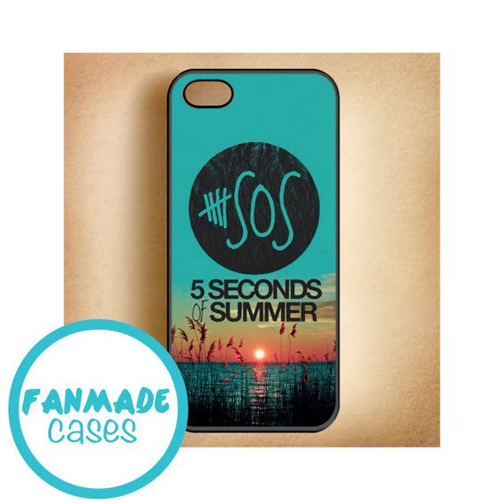 5 Seconds of Summer meadow logo (5sos) iPhone 4/4s 5/5s/5c & iPod 4/5 Rubber Case on Etsy, $16.88 CAD