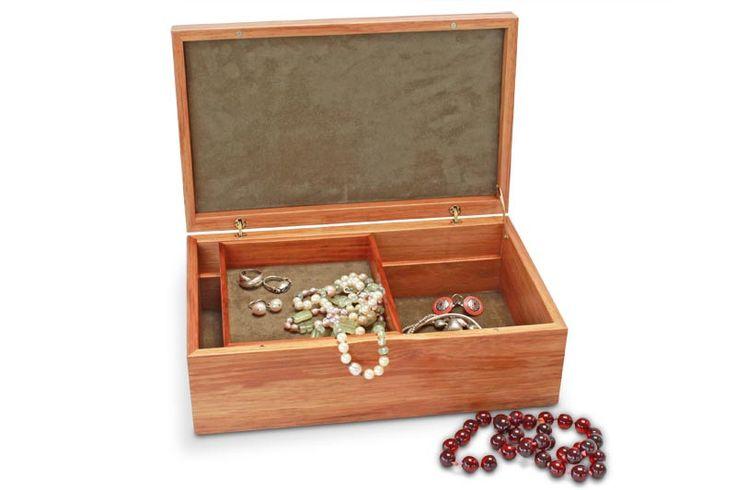BuyTamar Large Blackwood Jewellery Box With Tray Online | Australian Woodwork
