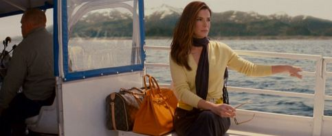 The Proposal_Sandra Bullock_Yellow sweater, butterfly brooch