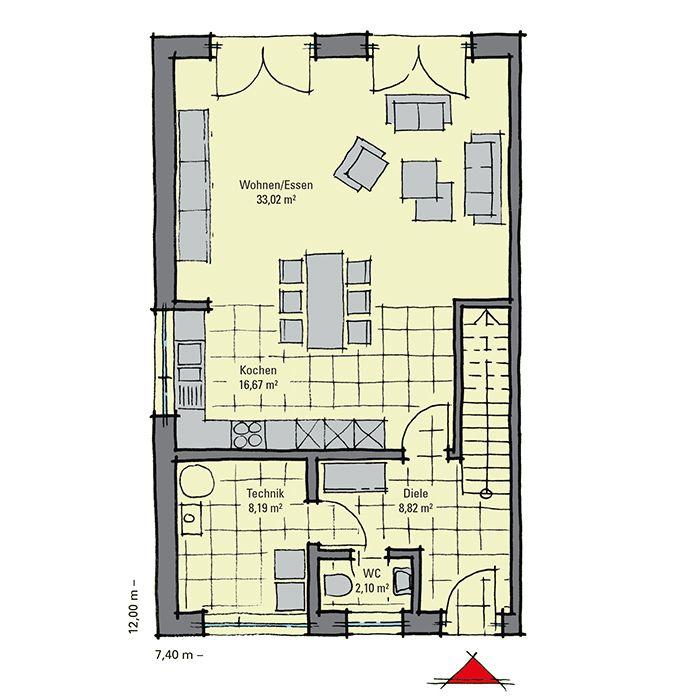 30 besten grundriss doppelhaus bilder auf pinterest. Black Bedroom Furniture Sets. Home Design Ideas