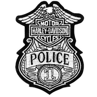 Harley-Davidson Police Emblem- Patch