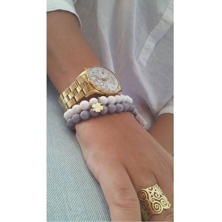 sets of bracelets #details #bracelets #fashion #jewlery #bizuteria #dodatki #fashion #blogger #natural #stone