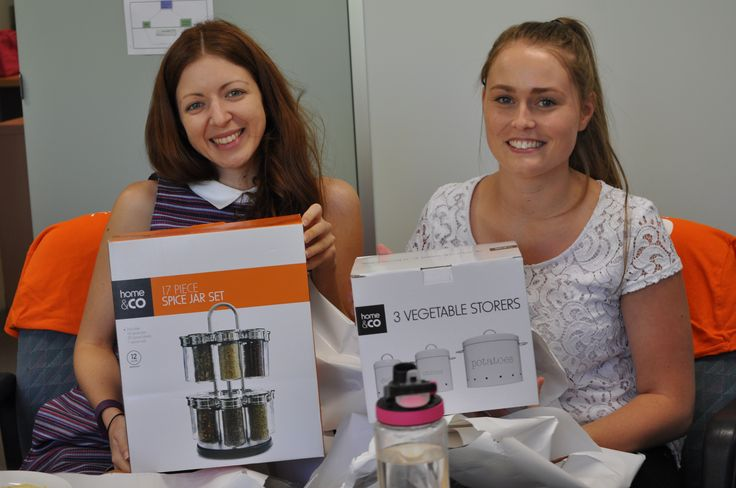 DAA National Office AHWW event - Jess & Melissa were the two lucky prize winners!