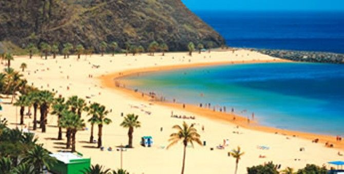 His beautiful beach Spain Canary Islands