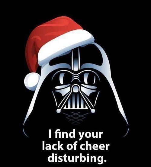 Christmas Vader:
