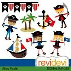 Ahoy pirate clip art set features kids in pirate costumes.  These cliparts are great for teachers and educators for creating their school and class...