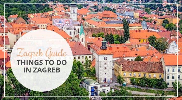 Visiting Zagreb Croatia Find Out Top Things To Do In Zagreb Explore Downtown Visit Museums Hike Have A Picnic At The Lake Zagreb Croatia Travel Croatia