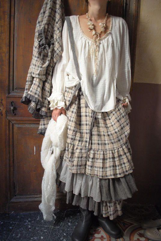 Mlle Adelaide : du coton et du mohair pour l'hiver...