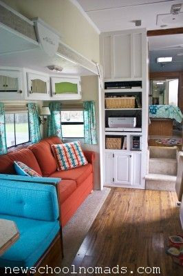 New School Nomads RV Makeover! Beautiful Job! I think I'm in love!